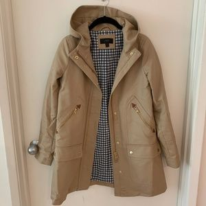J. Crew Chateau Trench Coat in 0